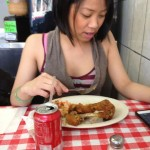 The Chinese In America: At A New York Diner Eating Chicken