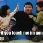 Obese child meme
