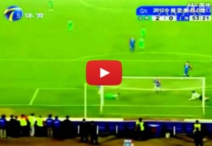 Every Anelka Touch In His Chinese Super League Debut