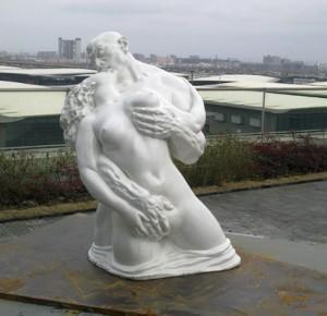 Porn statue