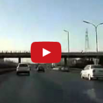 Racing On A Beijing Highway, And Crashing
