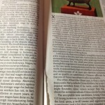 The Economist pages ripped out