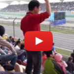 A Beautiful Moment In Auto Sports Spectating: This Chinese Fan