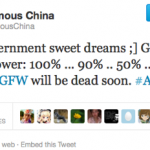 Anonymous: #GFW will be dead soon