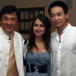 Jackie Chan, Lale Can and Bo Guagua, via The Telegraph (link below)