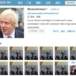 London's Mayor Has A Verified Sina Weibo Account, And It's Hilarious