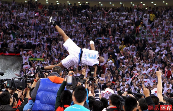 Stephon Marbury has found adoration and championship glory in China