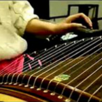 Titanic theme song on a guzheng