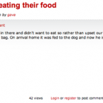 The Saddest Restaurant Review Ever (It Involves A Pet's Death)