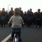 Is This Boy On A Bike Moscow's Version Of Tiananmen's Tank Man?
