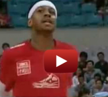 Allen Iverson And Dennis Rodman In China As Part Of US All-Stars Tour