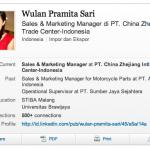 LinkedIn, featuring Sasha Grey