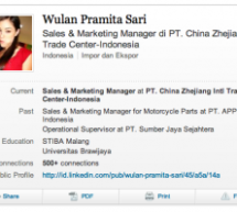 Why Is The Sales Manager At A Chinese Government-Owned Trade Company Using (Former) Porn Star Sasha Grey As A Profile Picture?