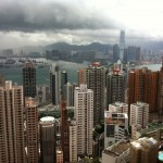 Hong Kong Victoria Harbor by Alicia