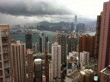 Picture of the Day: Hong Kong's Victoria Harbor: A Middle-Class View