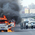 What Does A Chengguan Truck On Fire Look Like?