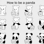 A Dose Of Cuteness: How To Be A Panda