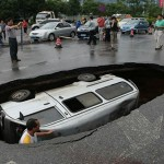 Sinkhole in Guilin