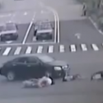 What Happens When Five People On The Same Motorcycle Get Hit By A Car?