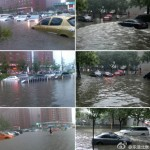 In Beijing, Guo'an And Hangzhou Greentown Are Playing Soccer In A Swimming Pool