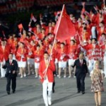Watch (For Those In China): Olympic Cauldron Lighting, Team China's Entrance