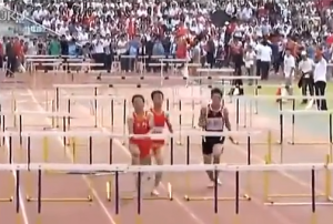 Chinese hurdler does not care featured image