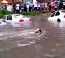 Today's Biblical Rainstorms In Beijing Enabled This Foreigner To Have A Splash