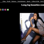 Long leg beauties come
