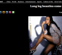 "Things That Are Wrong With This Xinhua Headline: ""Long Leg Beauties Come"""