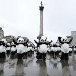 Pandas Parade Around Trafalgar Square, Fail To Terrorize Children