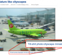 "Xinhua's ""Tilt-Shit"" Photos Are Indeed Eyebrow-Raising"