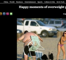 Xinhua Does Not Cease To Amuse: &#8220;Happy Moments Of Overweight People&#8221;