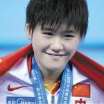 Ye Shiwen in 2011