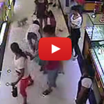 Young Lady Fights Elderly Grandmother After Unleashed Dog Harasses Child