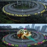 Zuma With Cars: Only In China