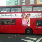 London bus ad