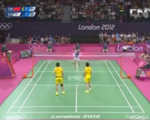 Watch: What It Looks Like When Badminton Players Are Trying To Lose