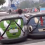 Now We Know Bumper Cars Can Be Linked Together And Driven By Young Children