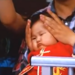 Chubby Chinese Baby At The Olympics Is Delightful