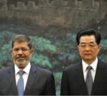 Mohammed Morsi And Hu Jintao Are The Bestest Of Friends