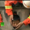 Oops! Kid Gets Head Stuck In Railing, Requires Firefighters To Cut Through Concrete