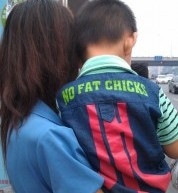 No Fat Chicks, Says Collared Denim-Wearing Boy