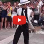 Here's A Seven-Year-Old Michael Jackson Impersonator In Sichuan