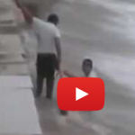 Three Migrant Workers Dove Into Qingdao's Typhoon-Induced Waves To Save A Drowning Tourist