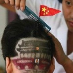 The Most Patriotic Haircut, Featuring Tiananmen