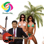 Is Xi Jinping in Paradise City?