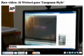 "Associated Press Films A PC Desktop Playing Ai Weiwei's Gangnam Parody, Washington Post Labels It ""Raw Video"""