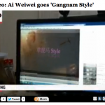 "AP's ""raw video"" of Ai Weiwei's Gangnam parody"