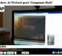 Associated Press Films A PC Desktop Playing Ai Weiwei&#8217;s Gangnam Parody, Washington Post Labels It &#8220;Raw Video&#8221;