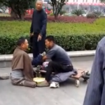 The Saddest Fight: Beggars Tussle Over Territory
